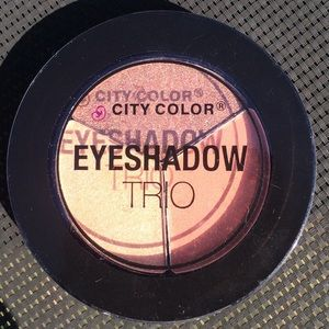 City color eyeshadow trio